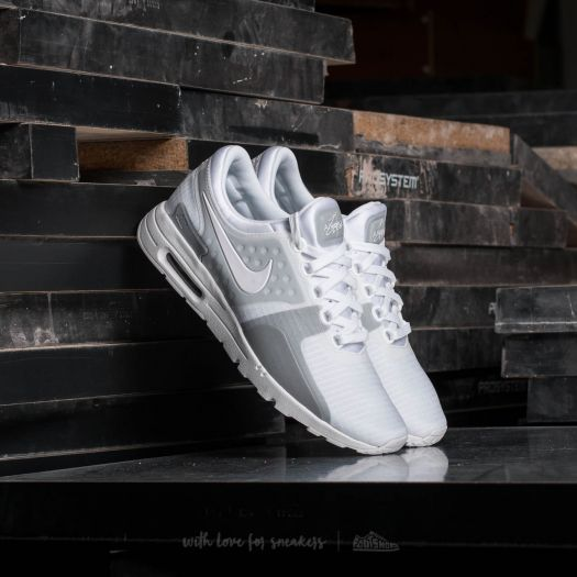 Nike W Air Max Zero SI White White Wolf Grey | Footshop