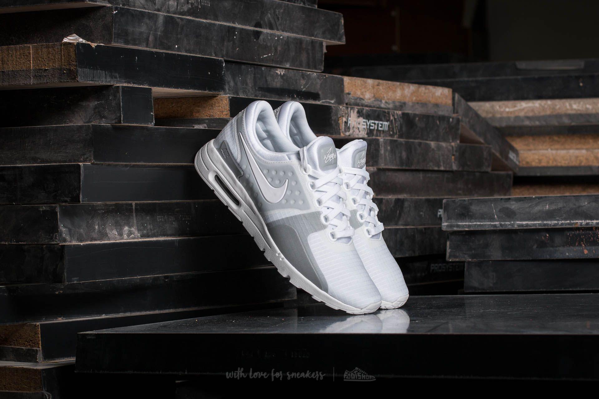 Nike W Air Max Zero SI White  White-Wolf Grey  240c41b03