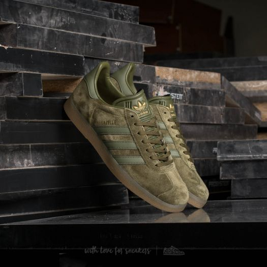 Men's Adidas Gazelle Indoor Bright Green Beta Yellow Gum5