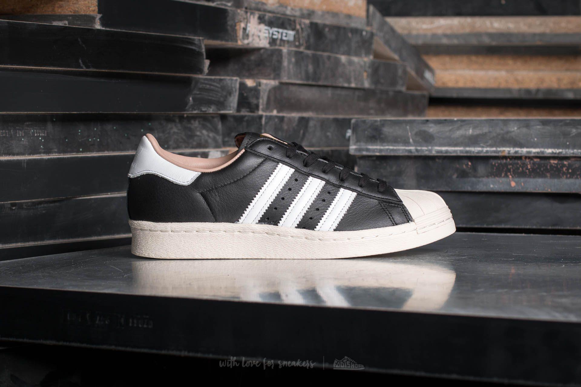 adidas W Superstar 80s Core Black Ftw White Off White