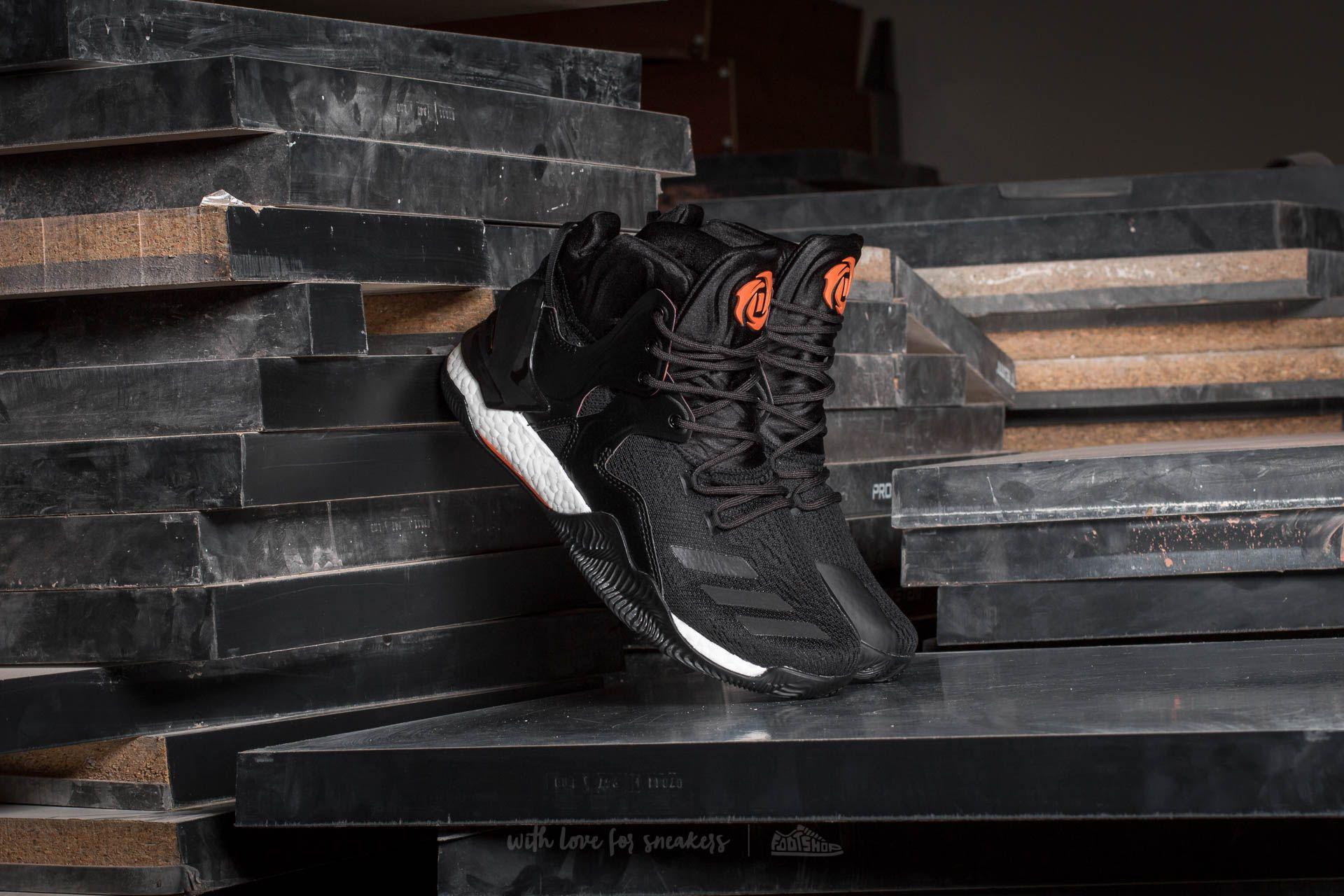 timeless design 1366a 90813 adidas D Rose 7 Core Black  Utility Black-Orange   Footshop