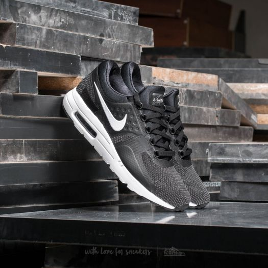 Nike Air Max Zero Essential Black White Dark Grey | Footshop