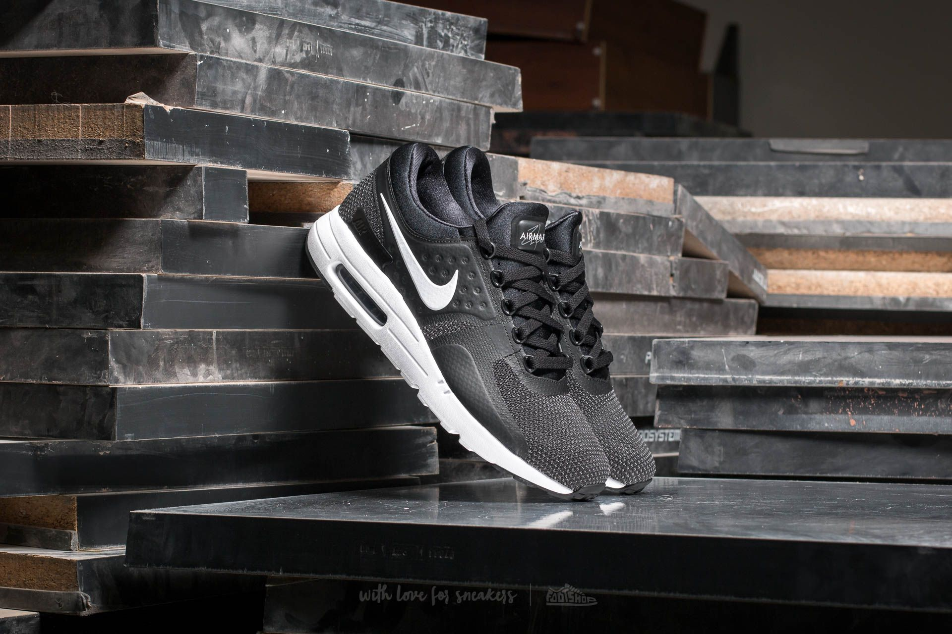Nike Air Max Zero Essential Black  White-Dark Grey at a great price 84 83dcdf91d792