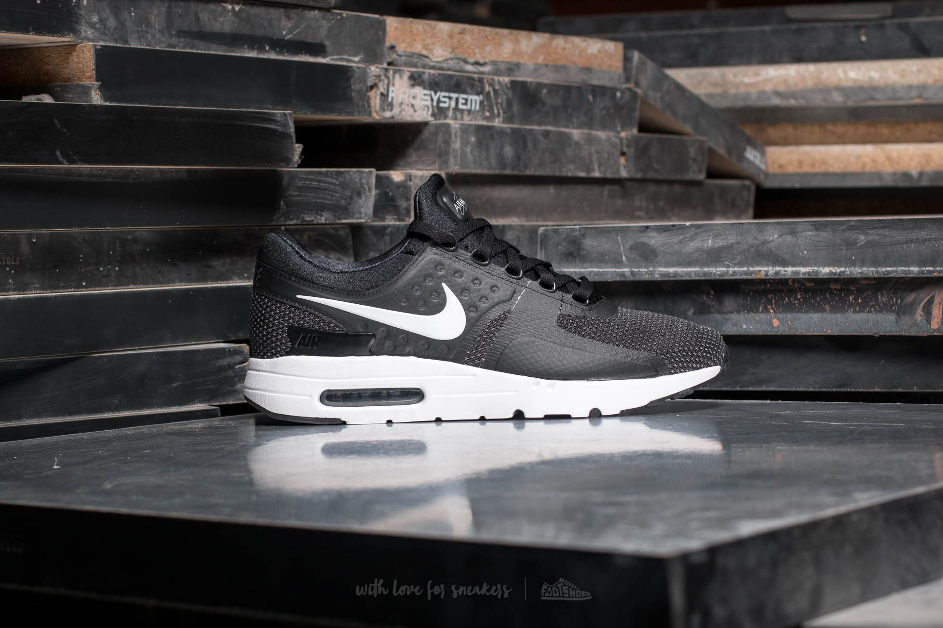 9ff64887f509 Nike Air Max Zero Essential Black  White-Dark Grey at a great price £