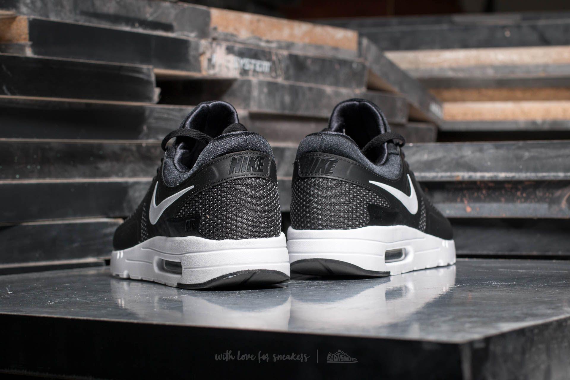 0c3a1b28f76cc Nike Air Max Zero Essential Black  White-Dark Grey au meilleur prix 84 €