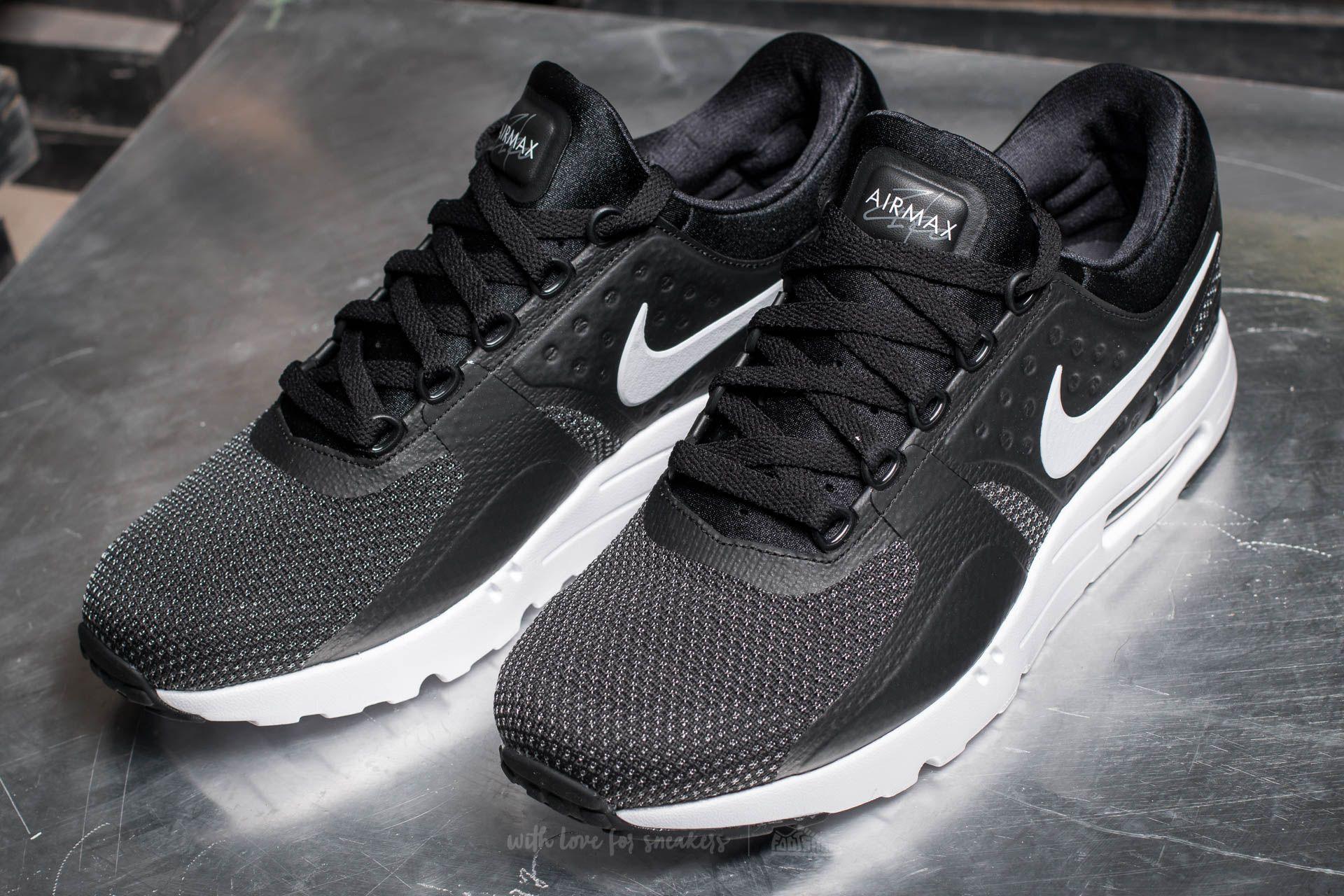 Nike Air Max Zero Essential Black  White-Dark Grey at a great price  99 a327757c3b
