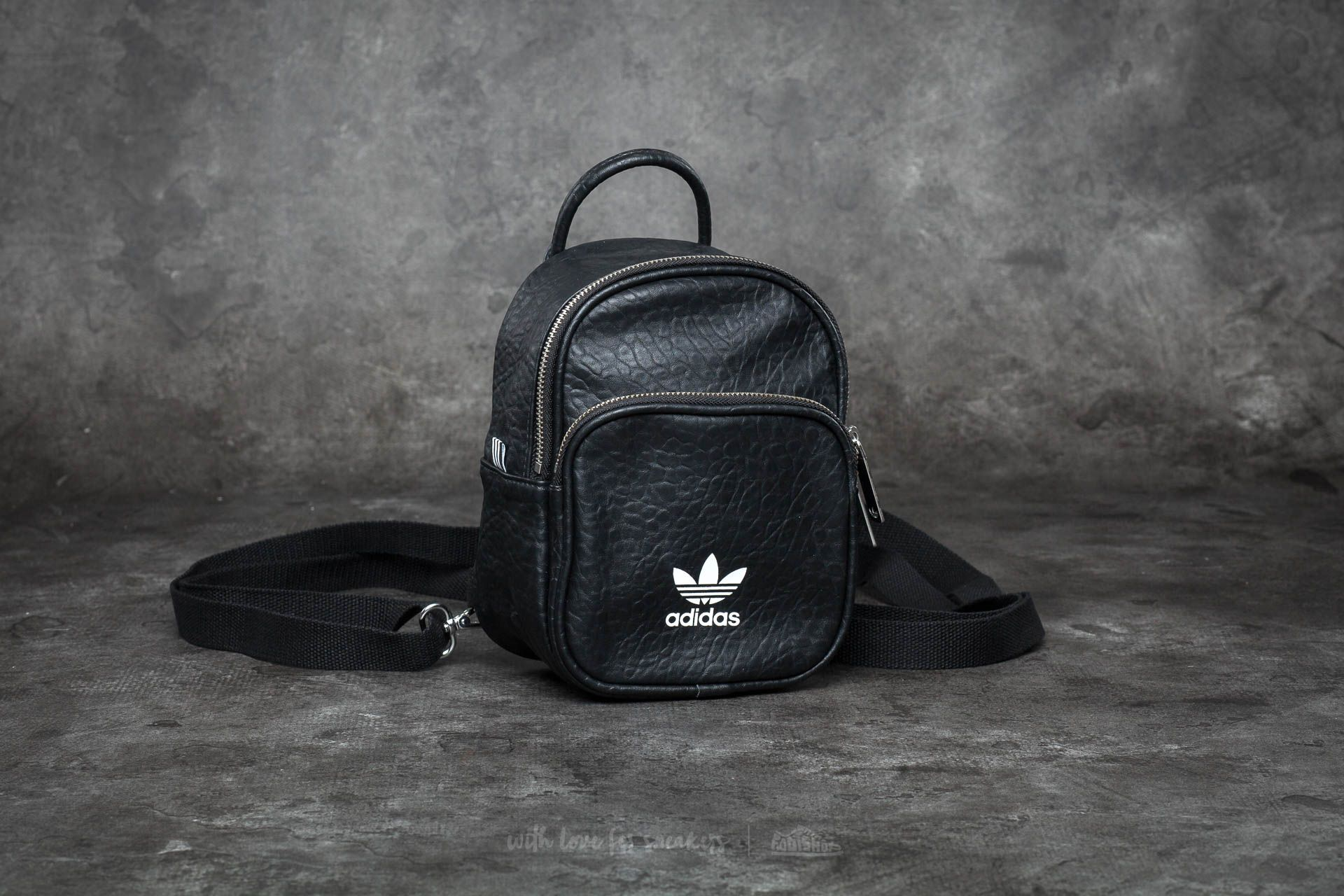 30f636bb56 adidas Classic Mini Backpack Black