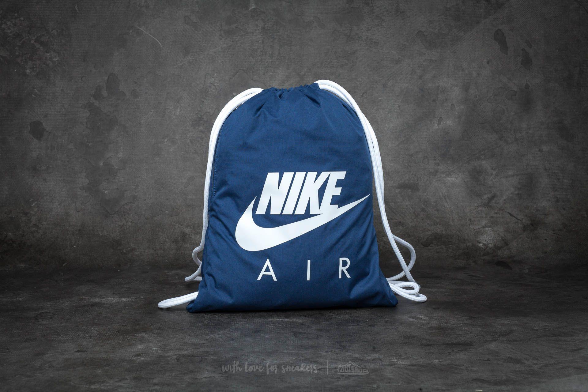 cb8d97299 Nike Heritage Gymsack Navy Blue | Footshop