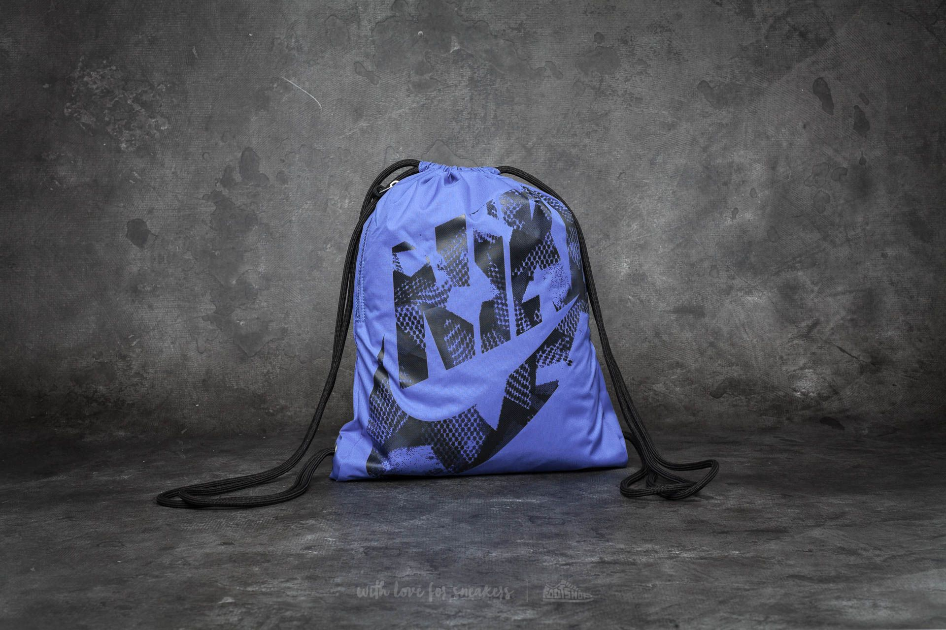 Nike Heritage Gymsack Gym Blue  Black   Footshop 8cbba94b2e