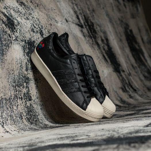 ADIDAS Originals Men Black & White Superstar 80S CNY Sneakers