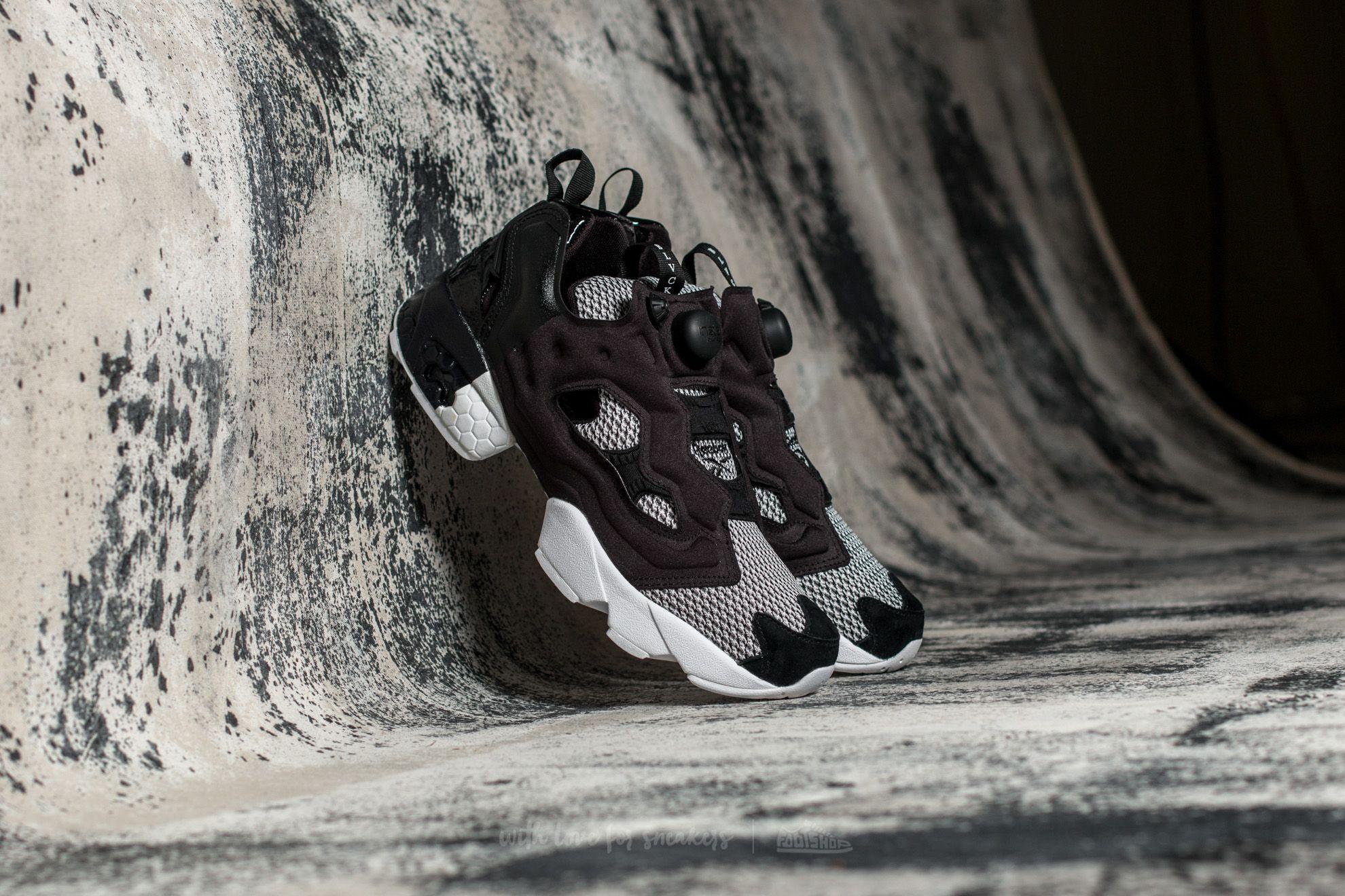 Sin alterar Consulado Gladys  Men's shoes Reebok x Black Scale Instapump Fury OG Black/ White