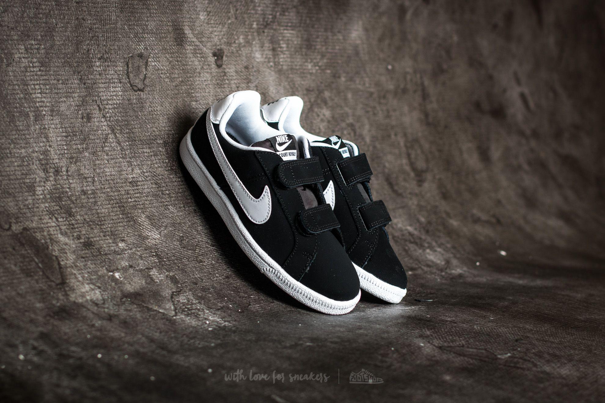 6c8cbbda140 Nike Court Royale (PSV) Black  White