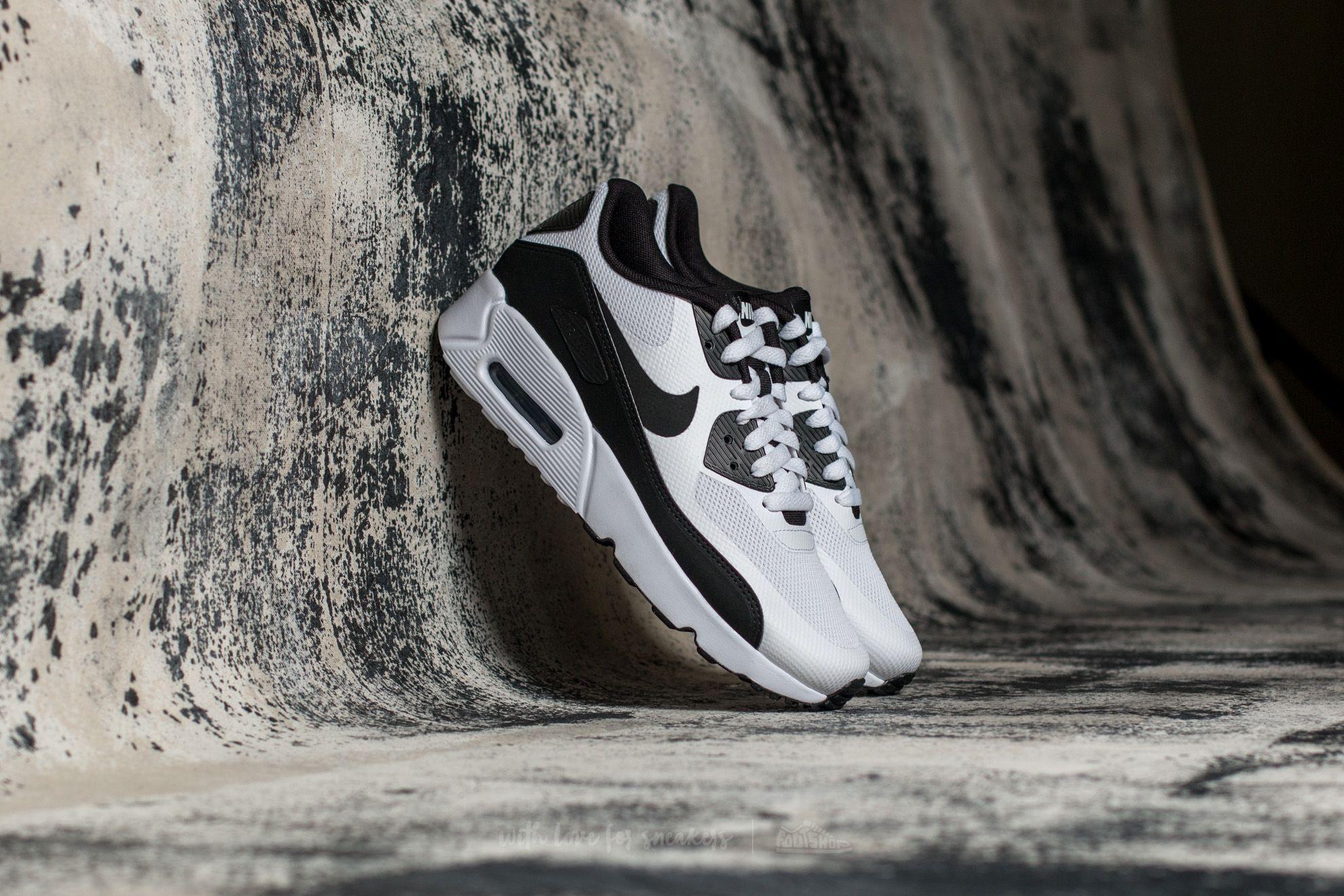Nike Air Max 90 Ultra 2.0 (GS) White  Black-White  a6c9c6d5384b