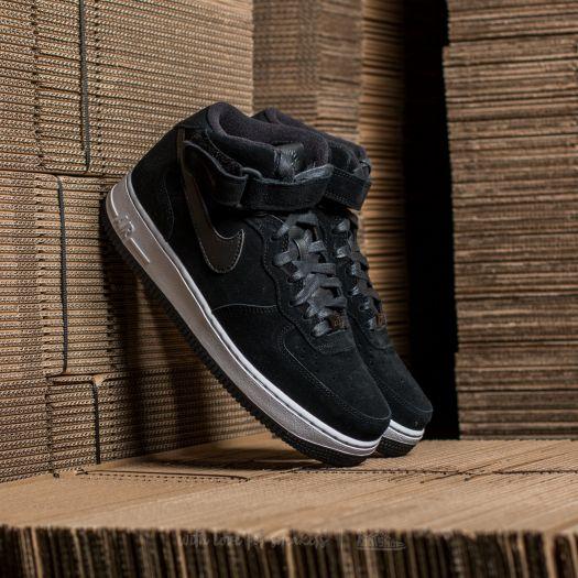 zawsze popularny gładki oferować rabaty Nike W Air Force 1 ´07 Mid Seasonal Black/ Black-White ...