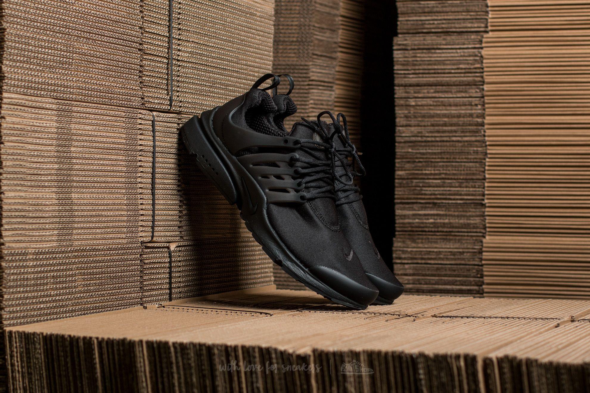 Nike Air Presto Essential Black/ Black,Black