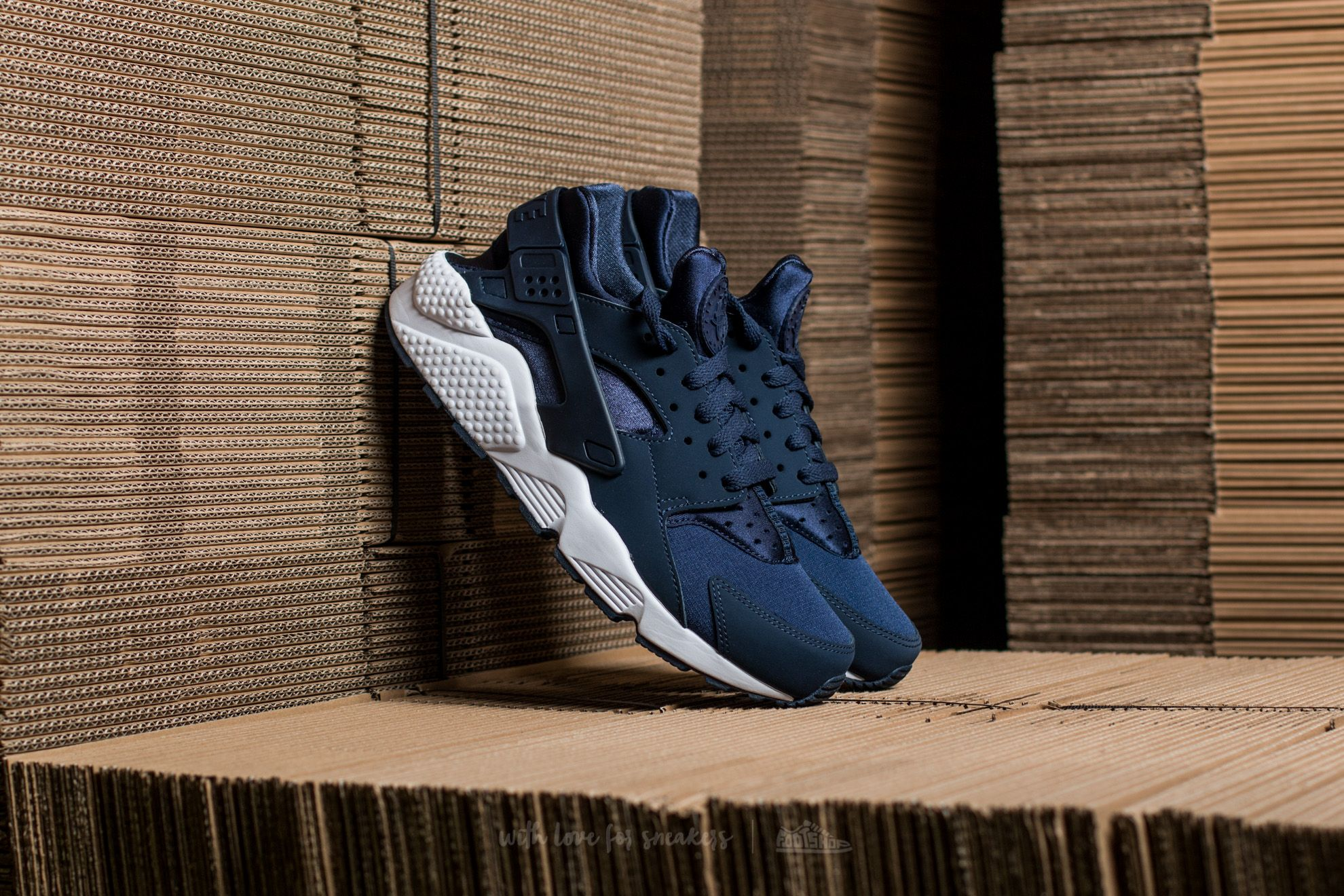 lowest price db4af 194de Nike Air Huarache. Midnight Navy  Midnight Navy