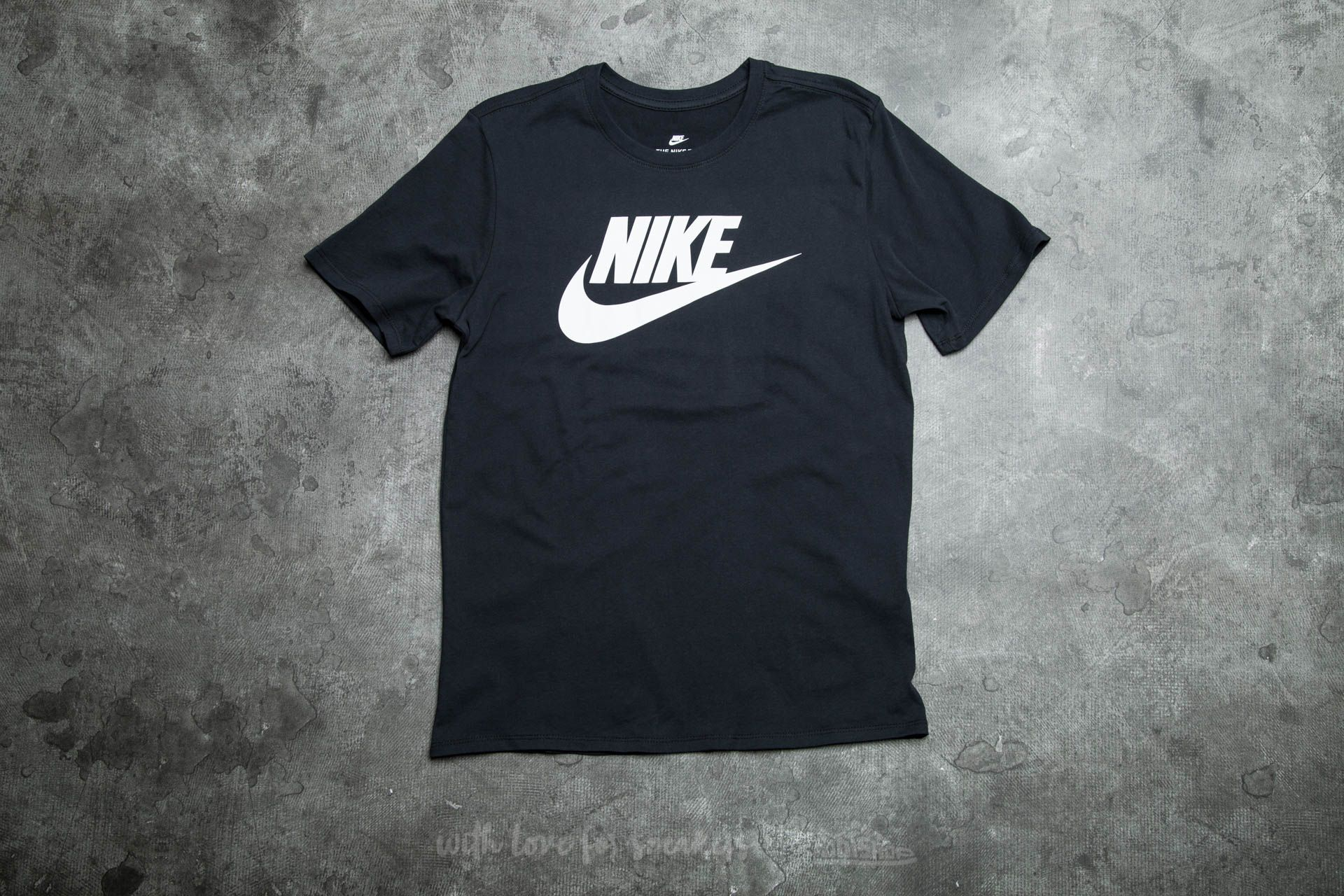 Nike Futura Icon Tee Black  White  54b633cb976