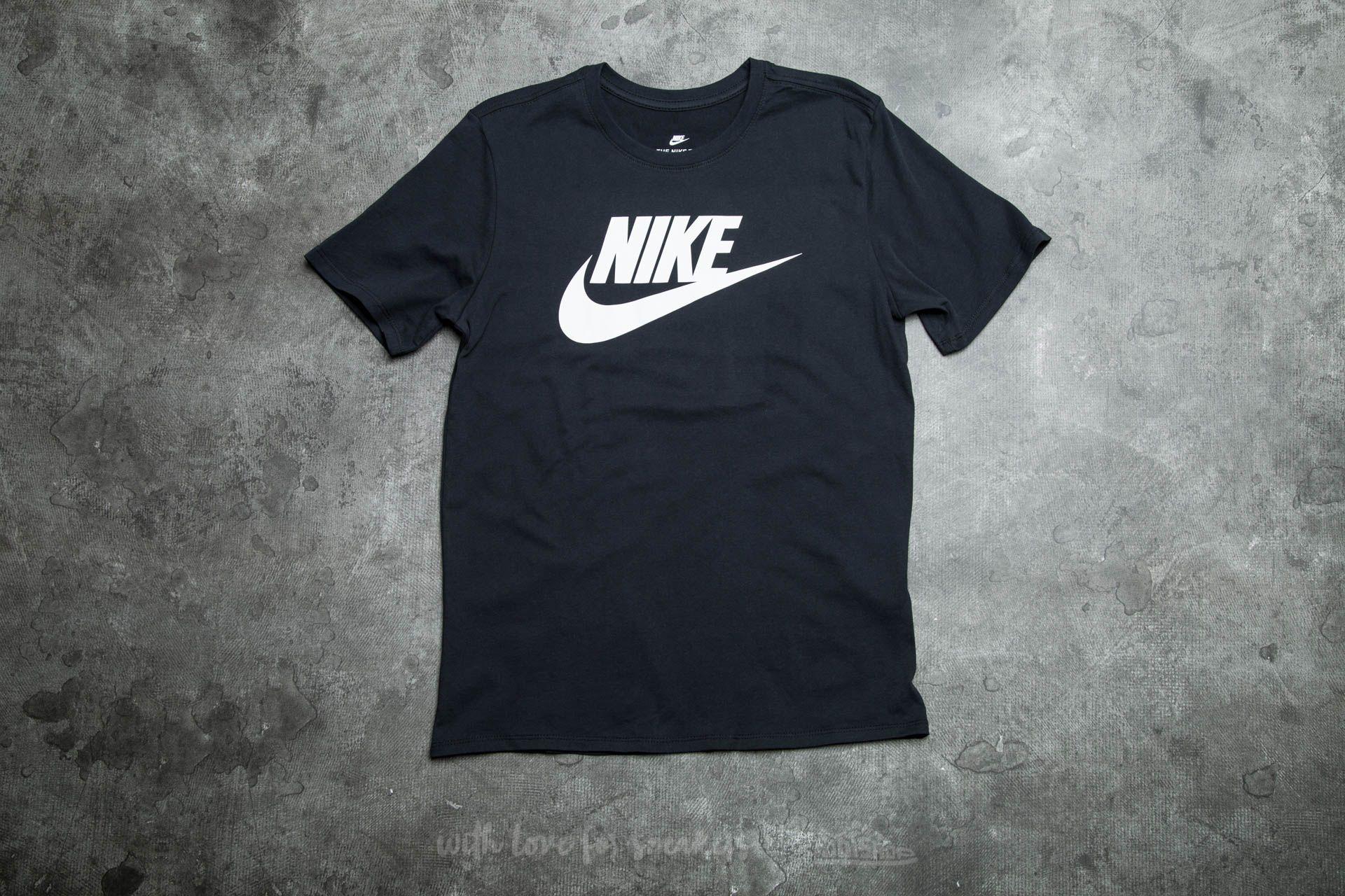 Footshop Icon Futura Black White Nike Tee xnXT7XdH