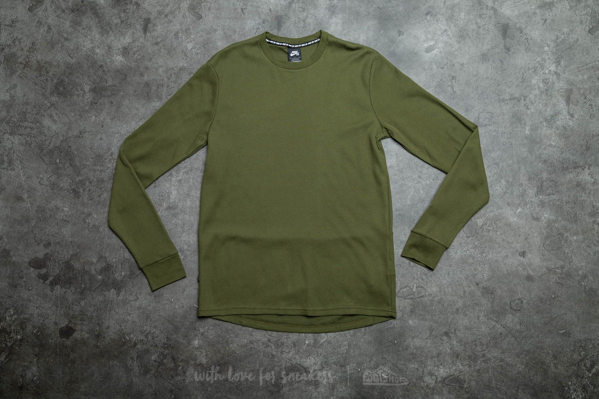 f9ff1f4e8acc Nike SB Long Sleeve Thermal Tee Legion Green