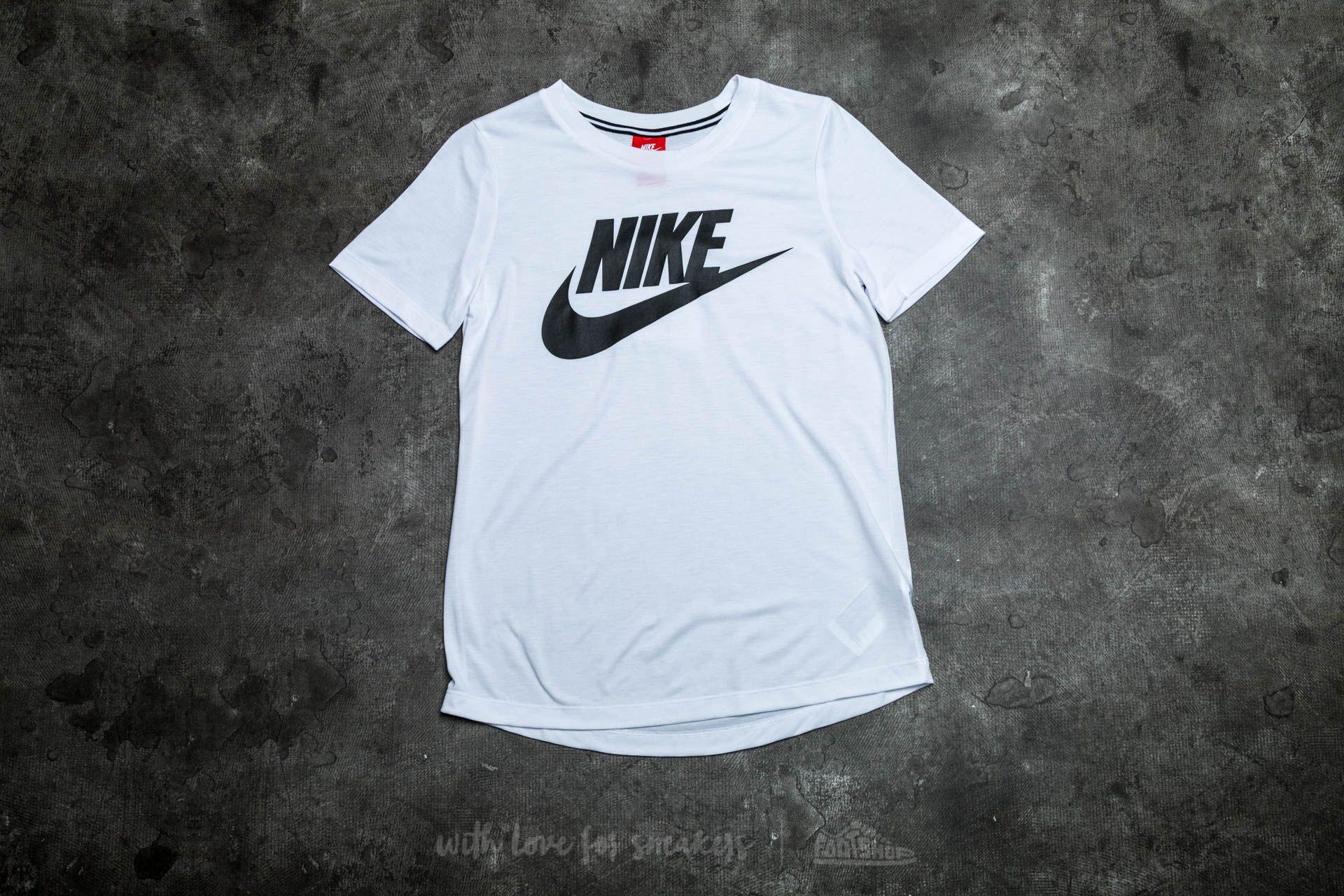Nike W Sportswear Essential Top White/ Black
