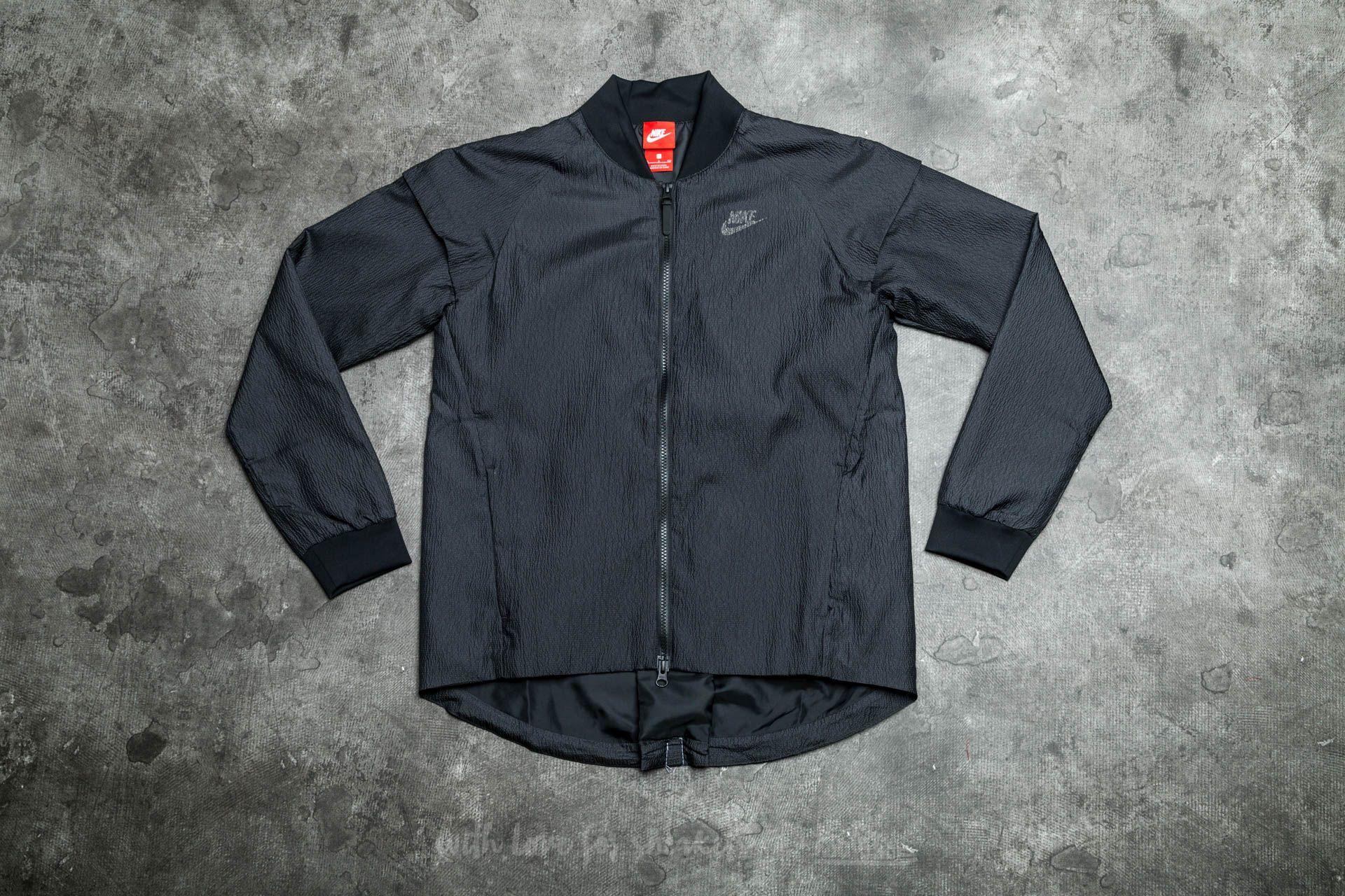 6371635e9fd1 Nike W Sportswear Tech Woven Jacket Black