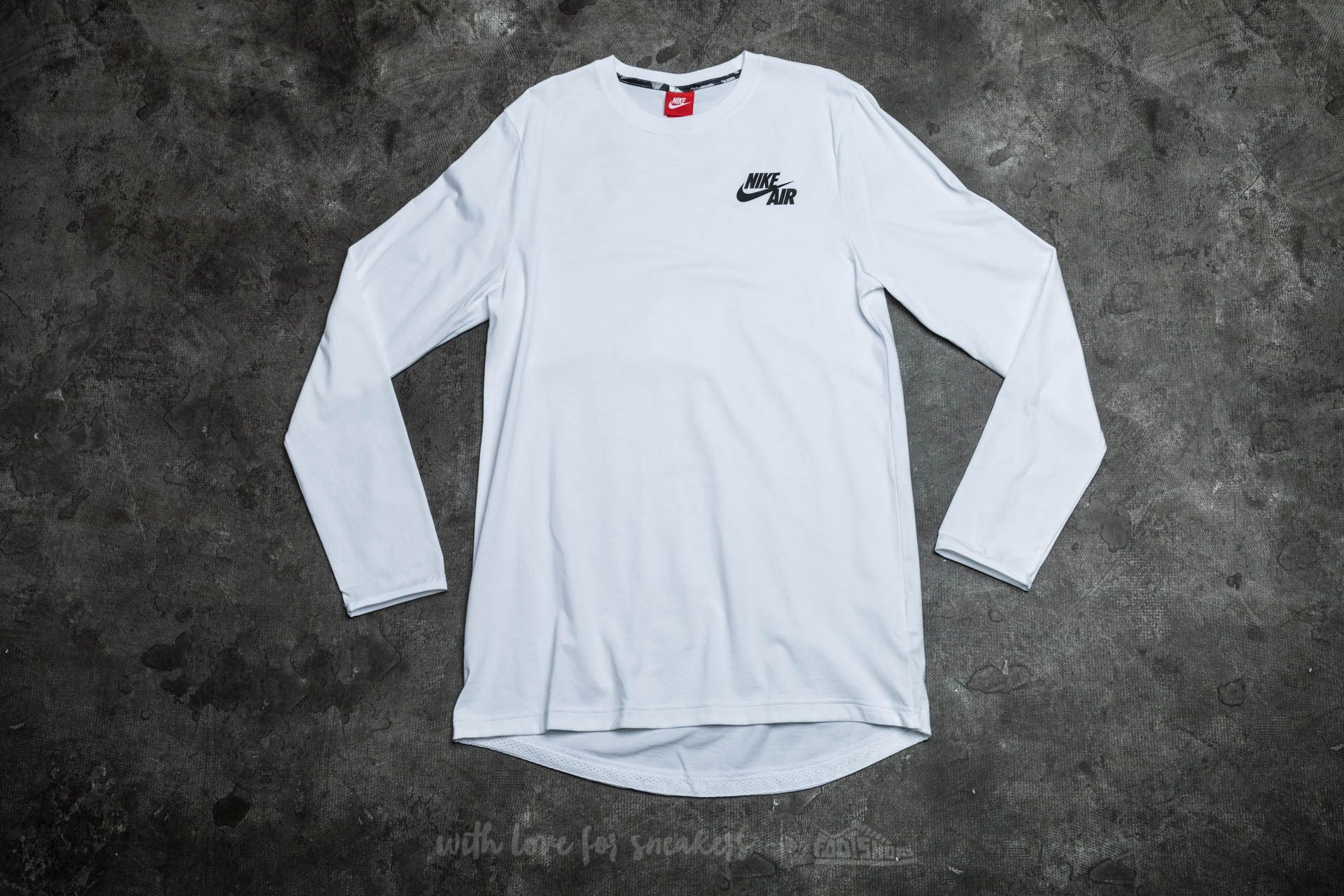 ba880646f3cb Nike Air Long Sleeve Top White  Black