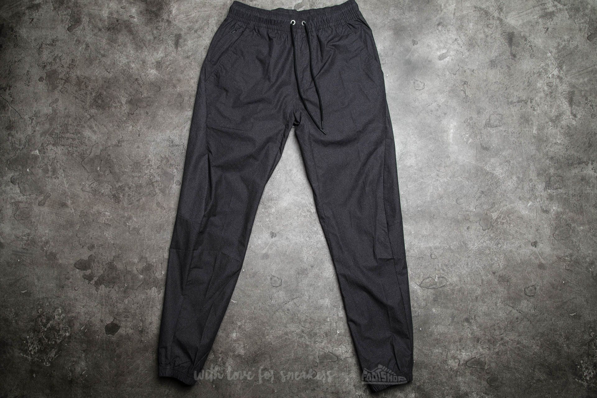 2d67838d752e58 Jordan City Printed Pants Black