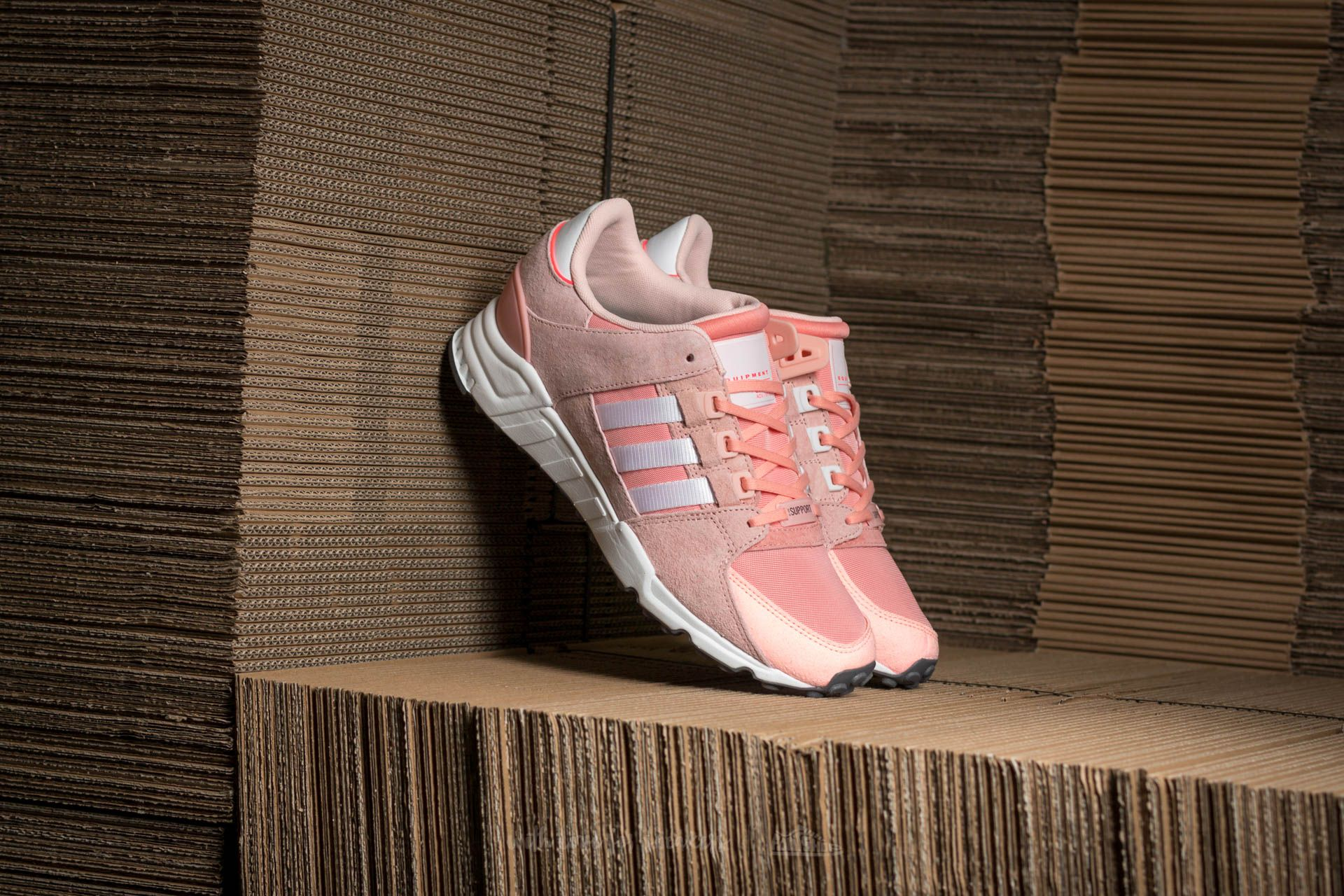 premium selection 4006f c8b78 adidas EQT Support RF W. Haze Coral Ftw White Turbo