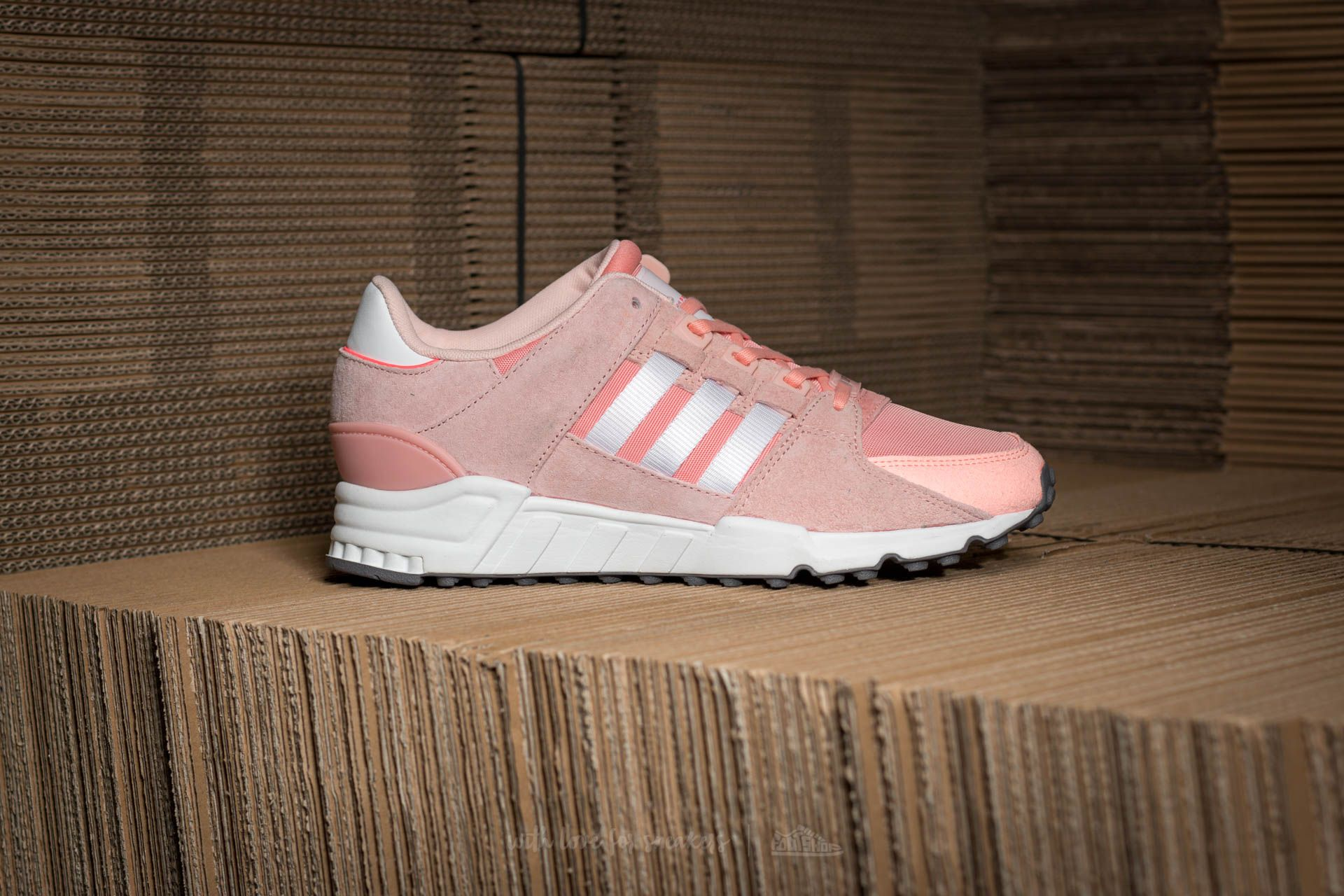 adidas EQT Support RF W Haze Coral Ftw White Turbo | Footshop