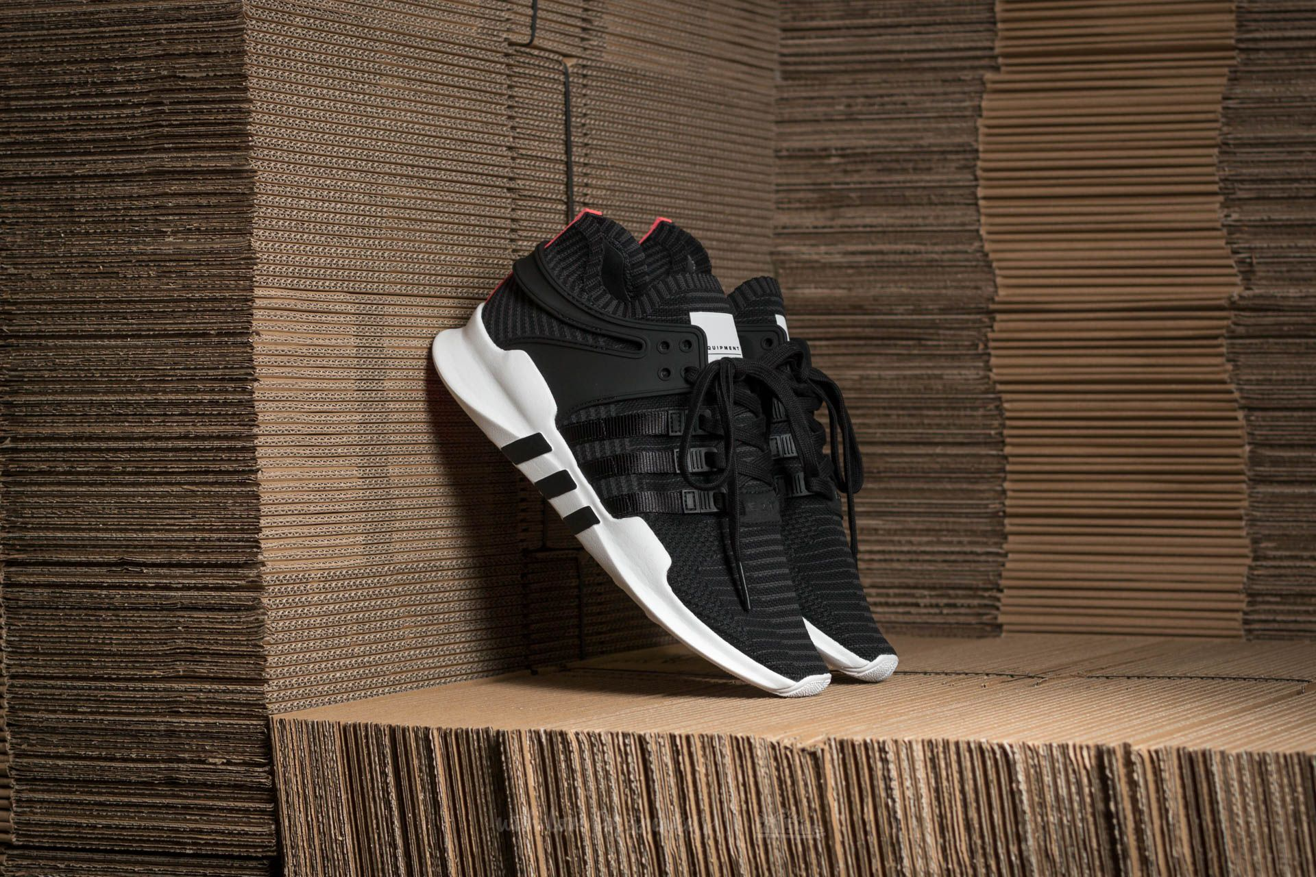 super popular 9b883 b3a0e adidas Equipment Support ADV Primeknit. Core Black Core Black Turbo