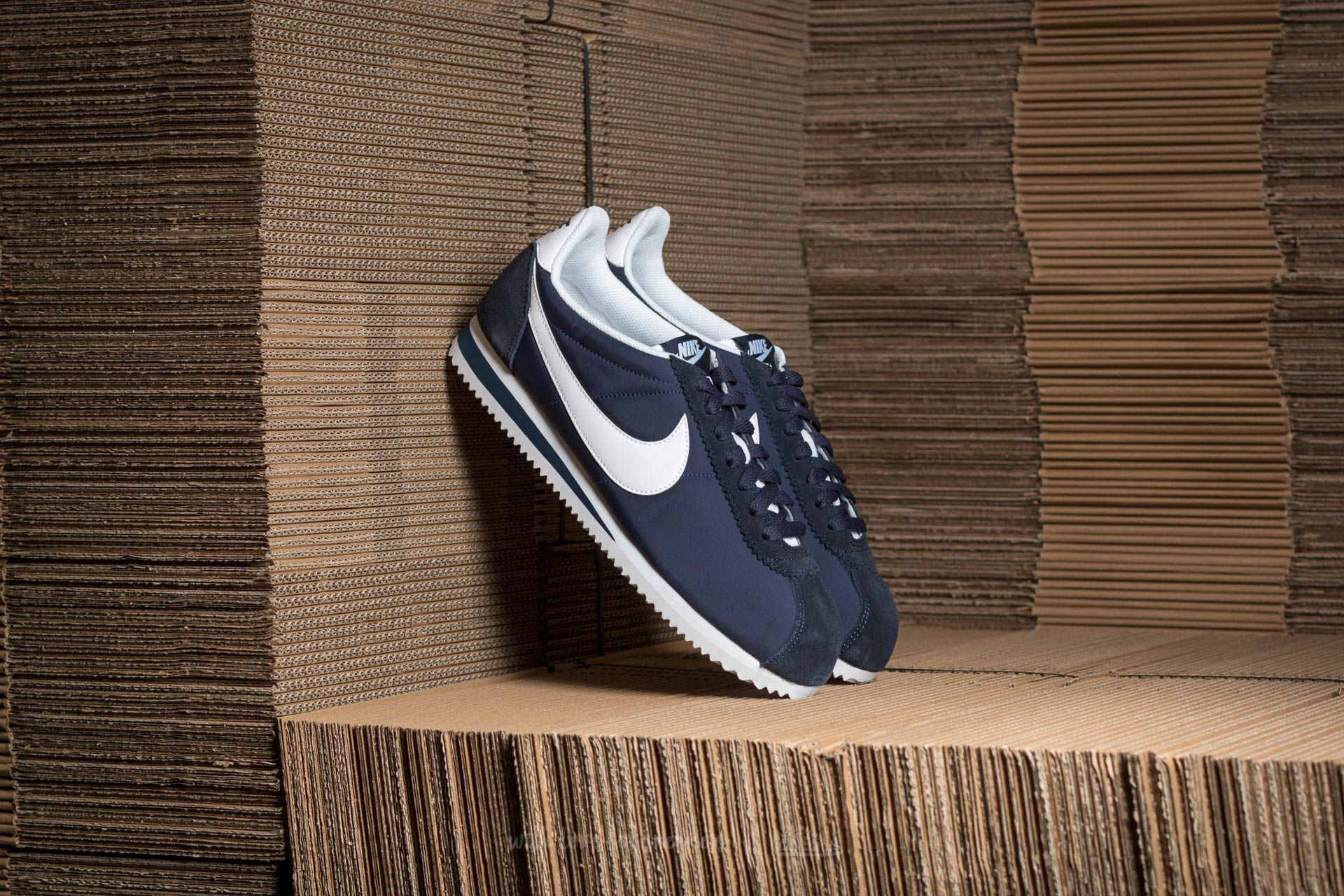 Nike Classic Cortez Nylon Obsidian  White at a great price 59 € buy at  Footshop 50ee54c7d42