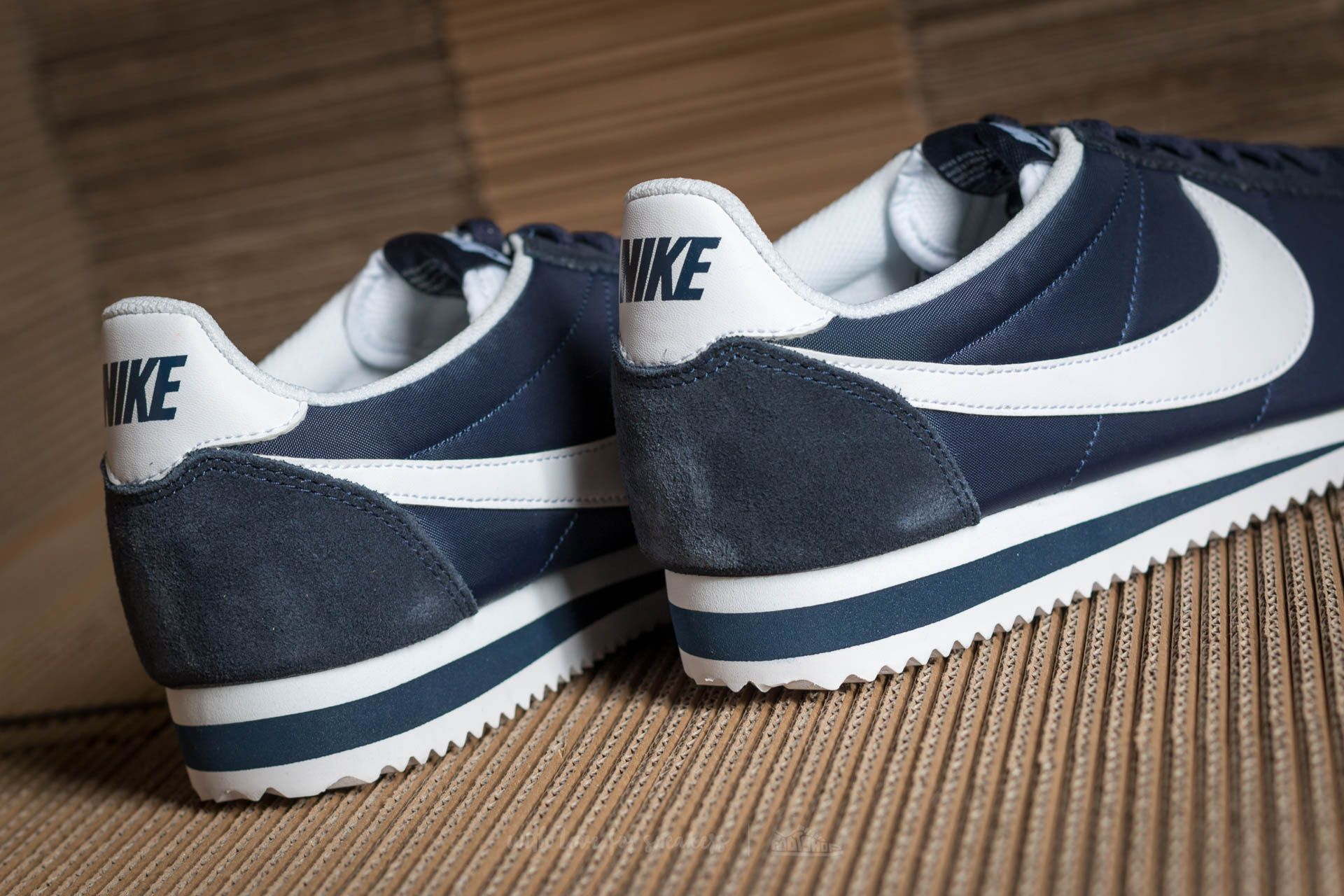 new style 5d5ae 3a431 wholesale nike classic cortez nylon sneakers blue 4135b 0d570  czech nike  classic cortez nylon obsidian white at a great price 59 buy at footshop  1321b