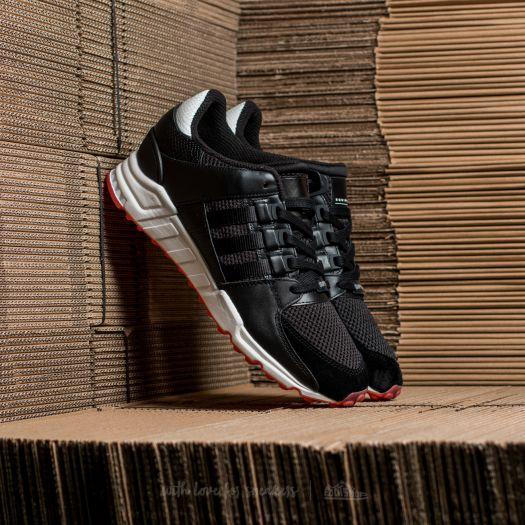 sports shoes 86740 338e4 adidas EQT Support RF Core Black/ Core Black/ Turbo ...