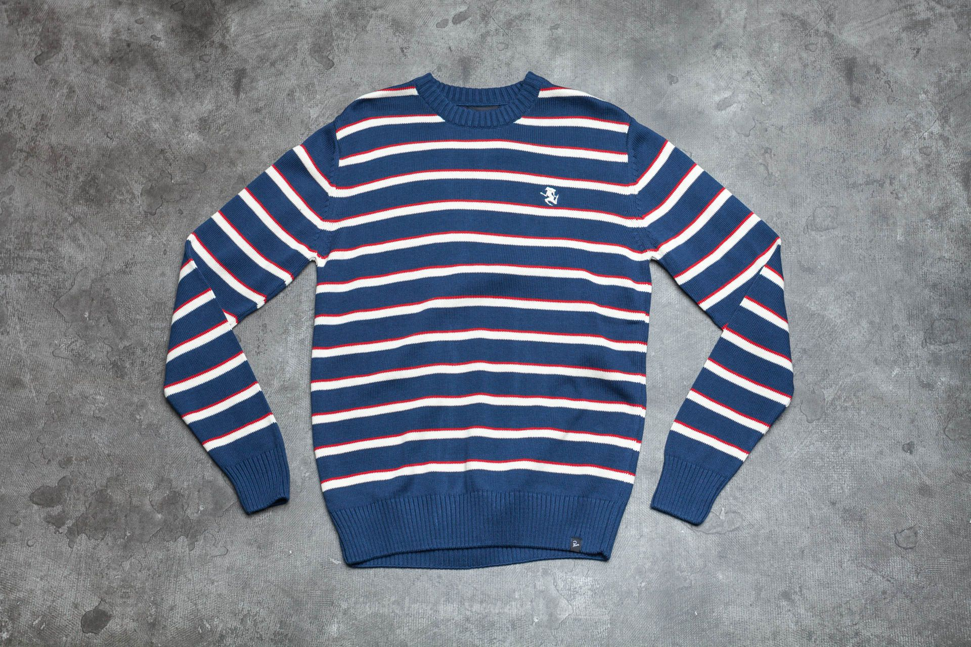 by Parra Stripes Knitted Pullover