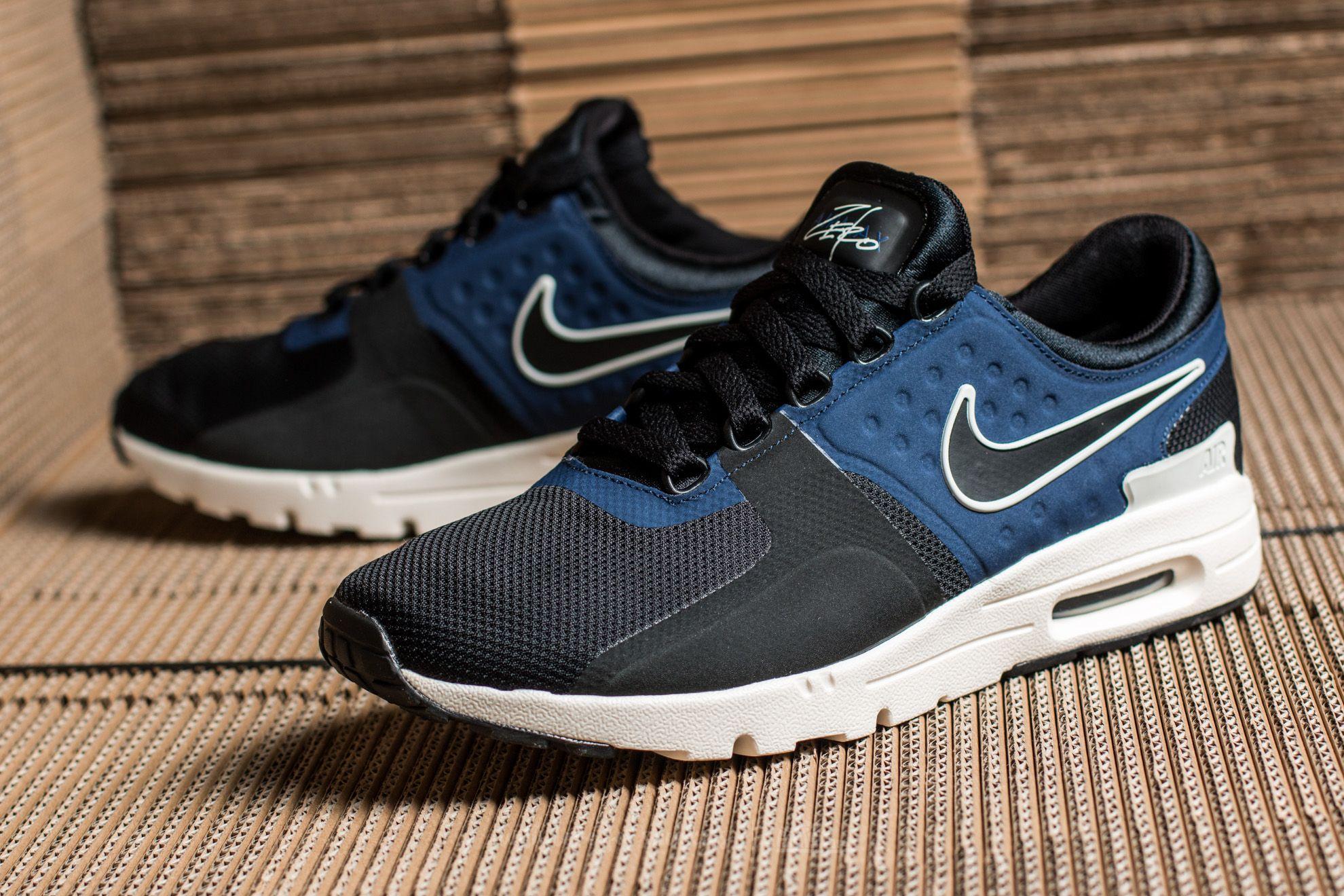 6440f2922c9e59 Nike W Air Max Zero Black  Black-Ivory-Binary Blue at a great