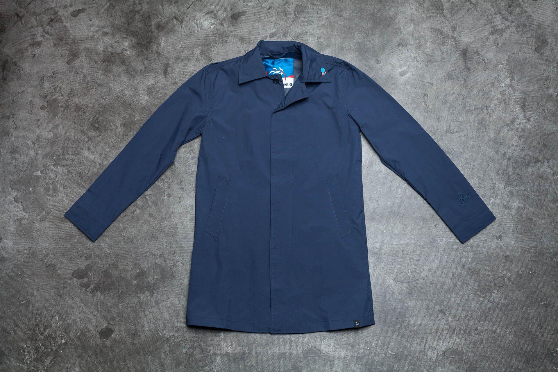 by Parra Nylon Rain Coat Navy Blue za skvělou cenu 1 680 Kč koupíte na Footshop.cz