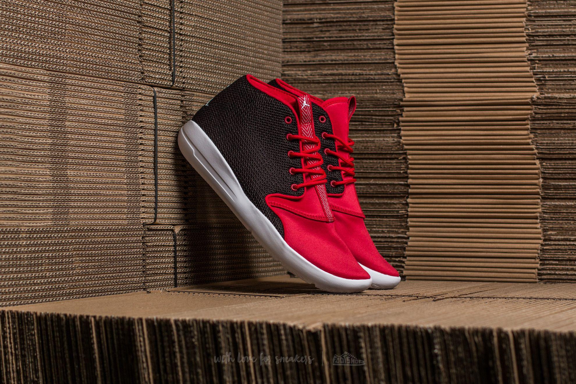 046a9d94f Jordan Eclipse Chukka BG Black  White-Gym Red-White