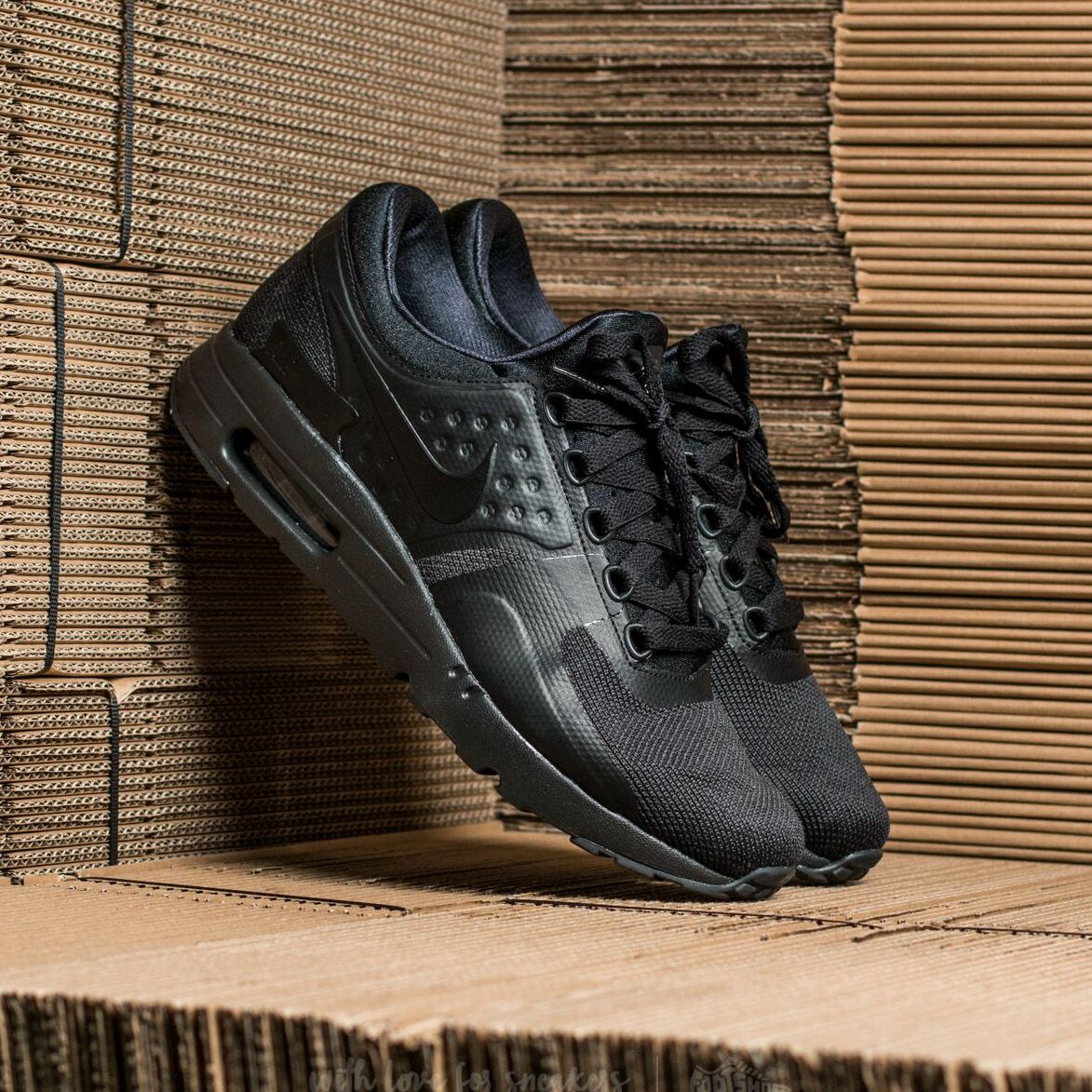 Nike Air Max Zero Essential Black/ Black-Black EUR 38.5