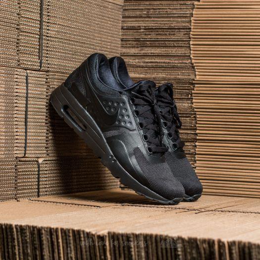 new style 20546 f1440 Nike Air Max Zero Essential Black Black-Black  Footshop