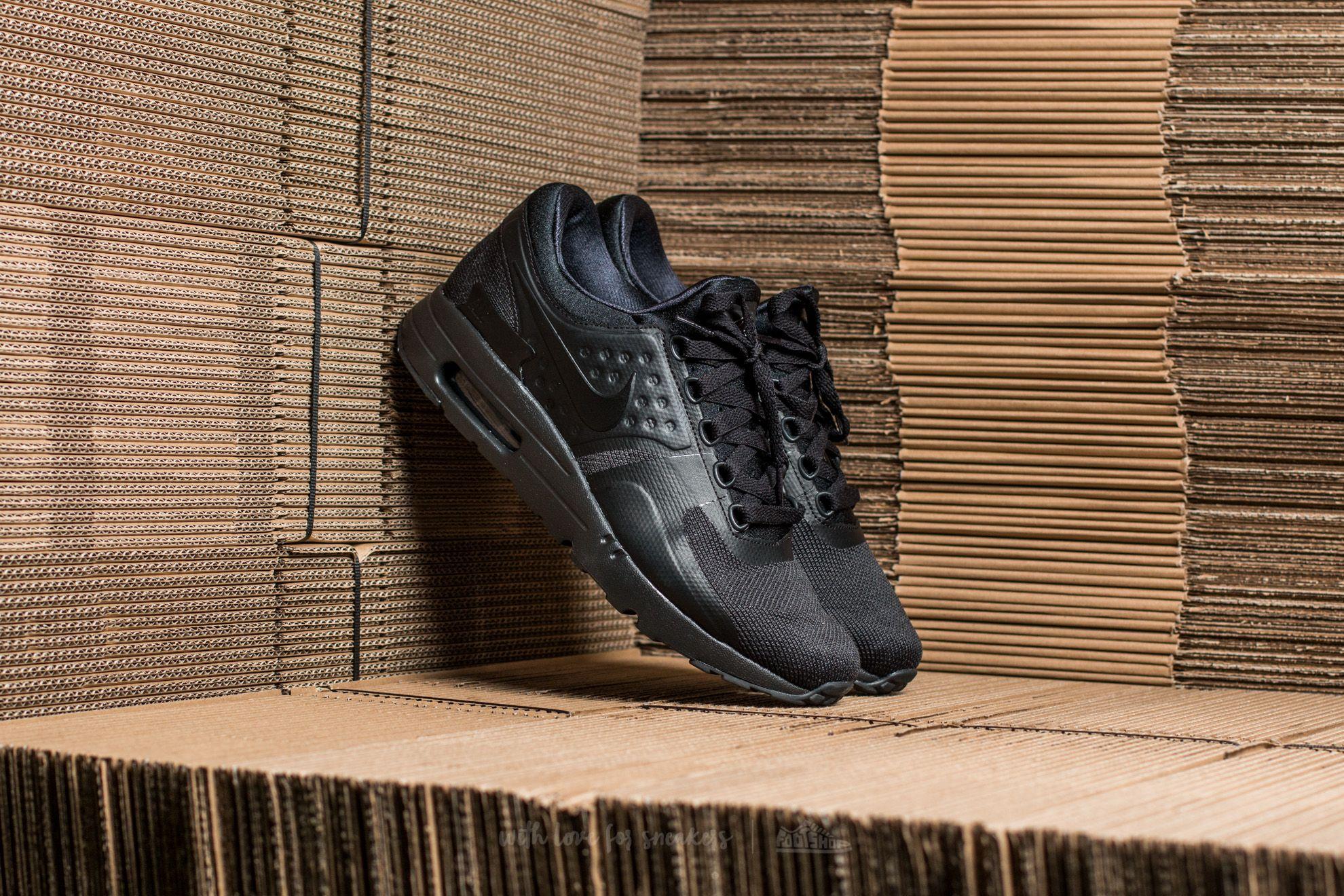 info for bbc93 9ef78 Nike Air Max Zero Essential Black/ Black-Black | Footshop