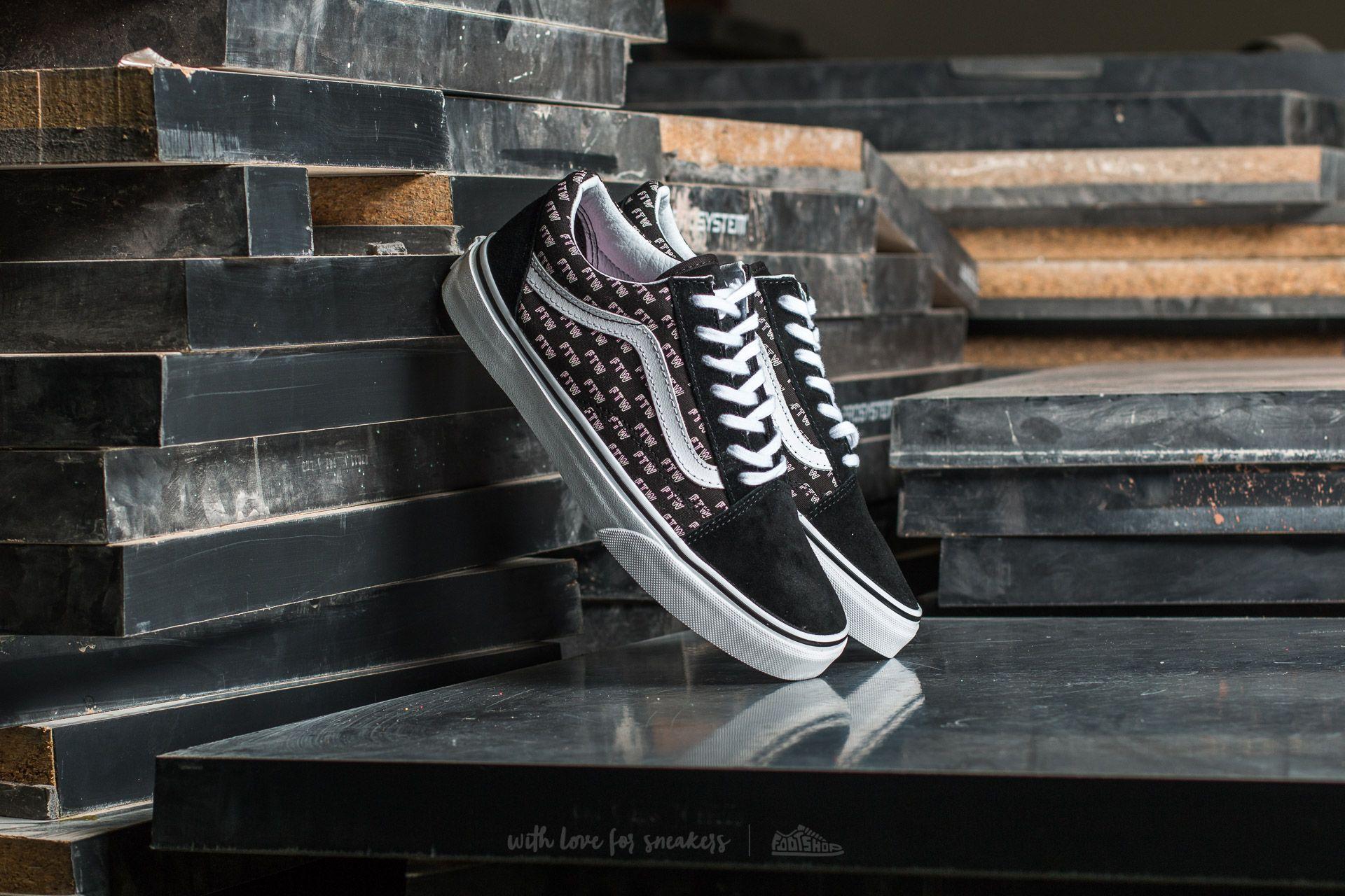 8849bf60ef Vans Old Skool (Sayings) Black