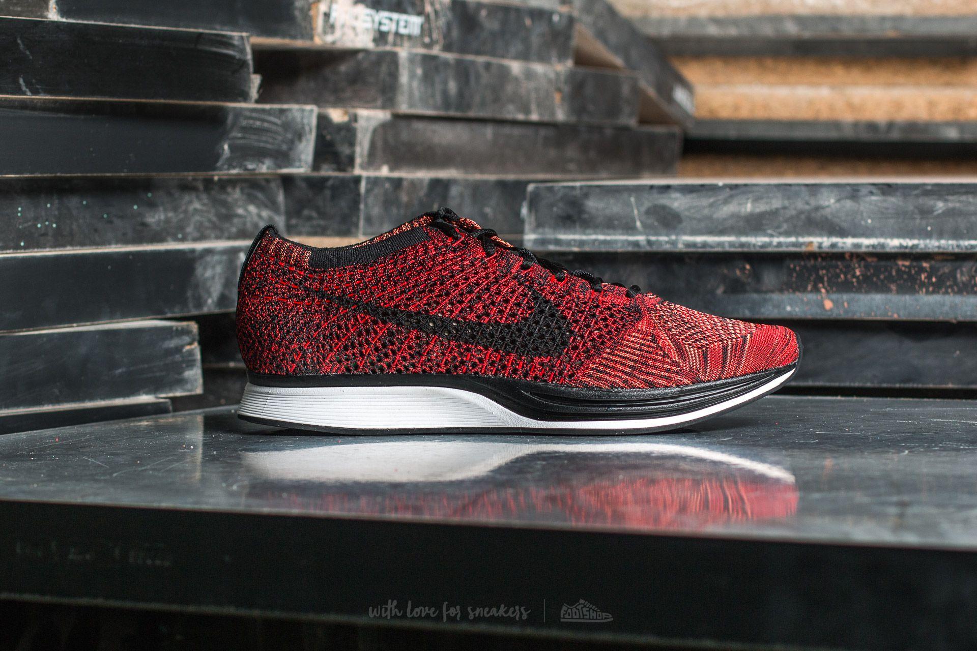 Nike Flyknit Racer University Red Black   Footshop