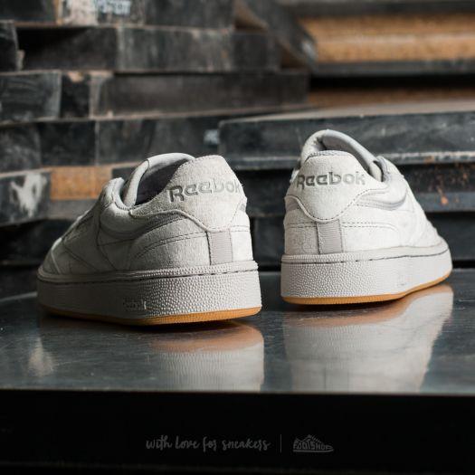 Men S Shoes Reebok Club C 85 Tg Steel Carbon Gum Footshop