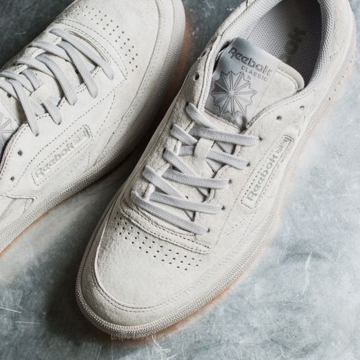 Men S Shoes Reebok Club C 85 Tg Steel Carbon Gum