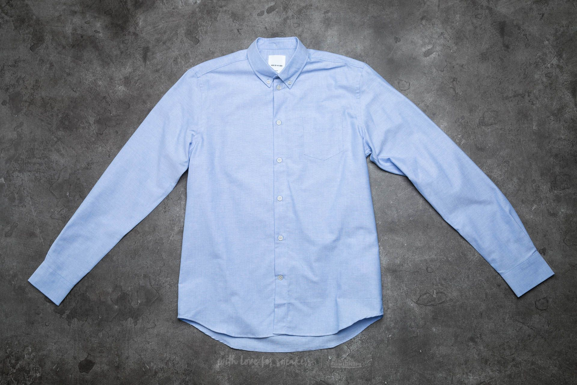 WOOD WOOD Timothy Shirt Skyway