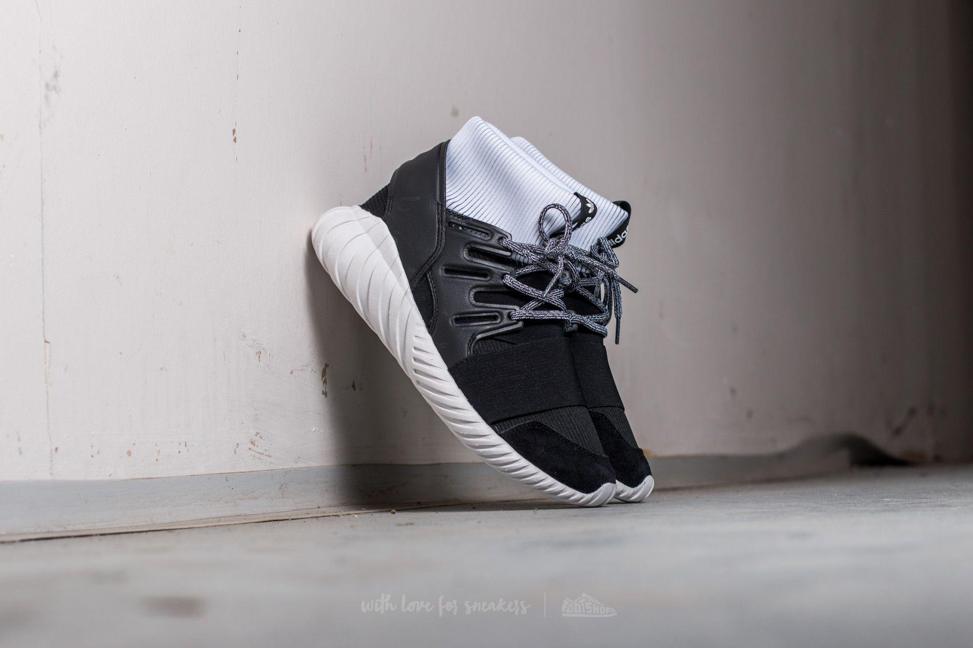 cc881daf3cdde9 adidas Tubular Doom Core Black  Ftw White