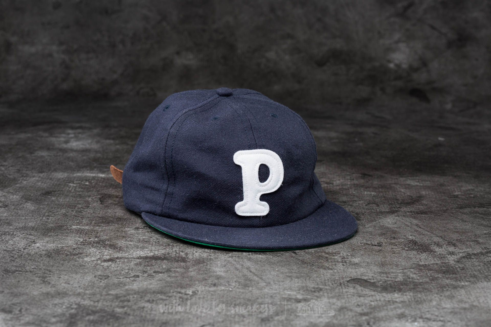by Parra College P 6 Panel Hat Navy Blue  e608bfea88bf