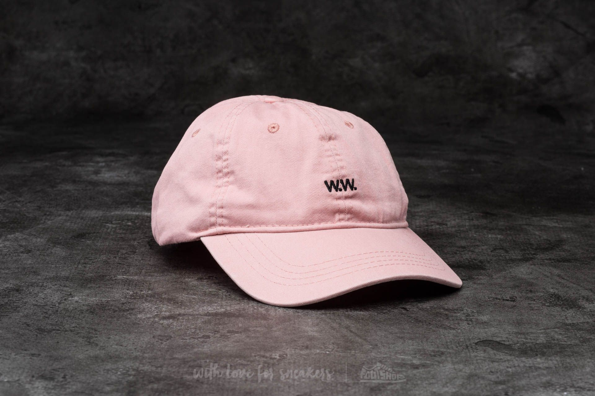 WOOD WOOD Low Profile Cap Peach Beige  92e8385fc984
