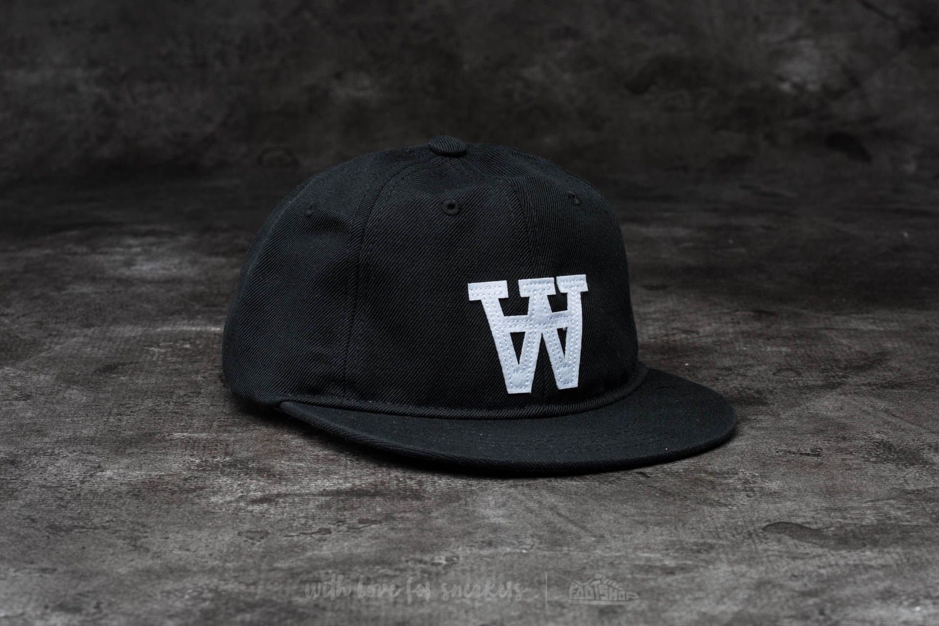 e61a38898c2 WOOD WOOD Baseball Cap Black