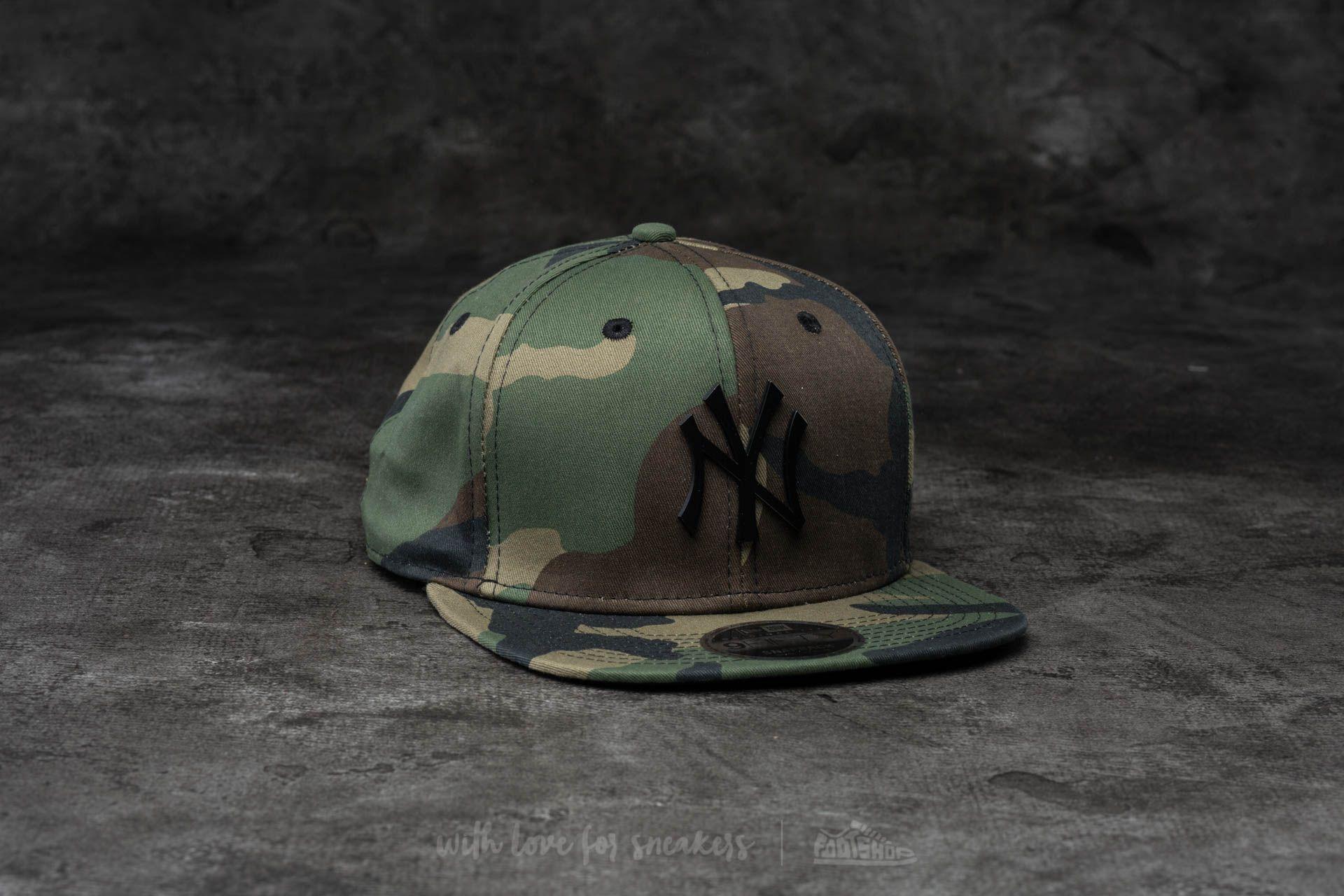 New Era 9Fifty MLB Metal Badge Camo  96cef04baadf